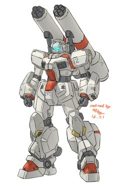 F71-g-cannon by z006 Comic Character, Character Concept, Concept Art, Character Design, Mecha Suit, Robotech Macross, Gundam Wallpapers, Unicorn Gundam, Mekka