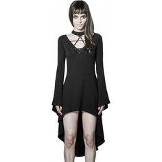 Punk Rave - Dark Witch Sleeve Dress