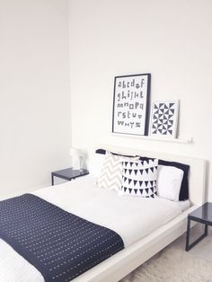 IKEA Malm Bed Decorations Ideas                                                                                                                                                                                 More
