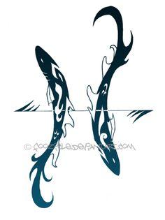 Aquarius Pisces Art | Pisces by ~foozicle on deviantART