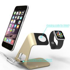 AmazonSmile: Stalion Apple Watch Stand Desktop Charging Dock Station for Apple…