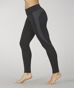 1fe2b01ea14d Take a look at this Black Jane Pieced Legging on zulily today! Workout Gear