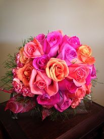 Bridal Bouquet by Wildrose Floral Design. Check it out on Facebook or at wildrosefloraldesign.net