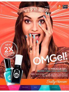 Sally Hansen Cosmetic Advertising