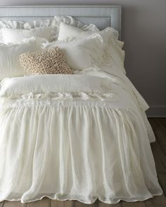 frilly beddings