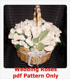 Wedding Roses for Rice Bird Seed or Candy PDF by ChristieCottage