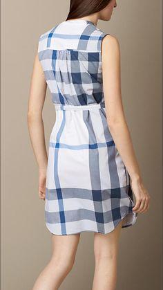 1286d8300a8f Люпин Платье-рубашка из вуали в клетку - Изображение 2 Victoria, Наряды.  Burberry United Kingdom
