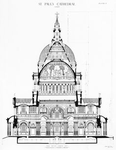 st paul's cathedral london drawing - Google Search