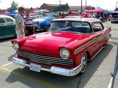 1957 Ford Fairlane custom by osubuckialum, via Flickr