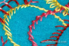 Needle and Thread, an excellent video tutorial on embroidery stitches