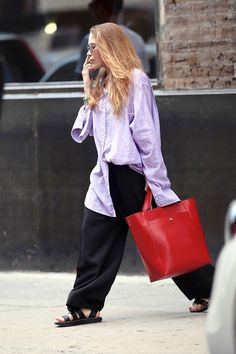 Mary-Kate Olsen out in NYC on June 1, 2017