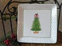 Christmas Tree Serving Plate