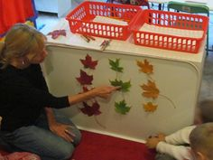 Graphing Fall Leaves by Teach Preschool