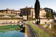 O hotel Castiglion del Bosco, na Toscana (Foto: Editora Globo)