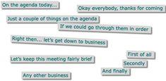 BBC Learning English | Talking business | Meetings: Agenda