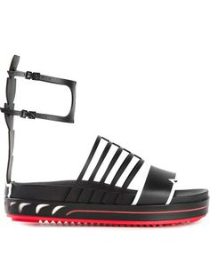 Shop Fendi 'Fashion Show' flat sandals in  from the world's best independent boutiques at farfetch.com. Over 1500 brands from 300 boutiques in one website.