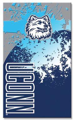 12 UConn Huskies Beach Towel 30 x 60 Inch #BT53097