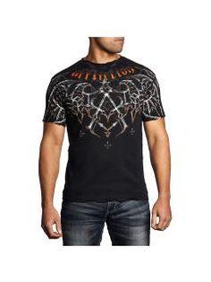 Men's T-Shirt Affliction Eagle Pride