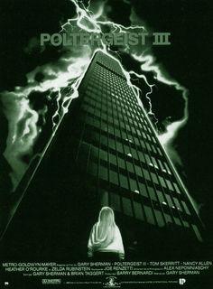 POLTERGEIST III is deel 3 van de horror-filmreeks, Poltergeist III, is geregisseerd door Gary Sherman en werd uitgebracht op 10 juni 1988 door MGM. het is tevens de laatste in deze verhaalreeks. Het zal tot 2015 duren totdat er weer een Poltergeist movie te bewonderen is..., zelfs in 3D..