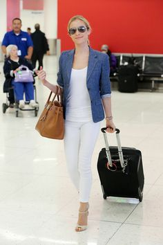 Kristin was spotted arriving at LAX Airport in L.A.