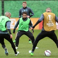 AFC Ajax training session ahead of their Champions League with FC Shalke 04