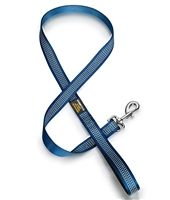 It's important to stay safe when walking your dog. This Royal Blue Reflective Dog Leash is perfect for that!