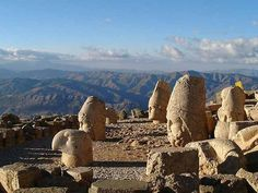 Mindblowingly beautiful to climb Mount Nemrut at night and then sit among the stone gods to watch the sunrise over the mountains.