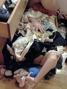 Underwear Drawer, from the Clutter series by Lee Materazzi Narrative Photography, Art Photography, Image Mode, Messy Room, In Pantyhose, Clutter, Cool Pictures, Underwear, Photoshoot
