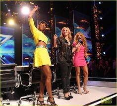Demi Lovato & Kelly Rowland: X Factor Season 3 Panel Pics!   demi lovato kelly rowland x factor season 3 panel pics 03 - Photo