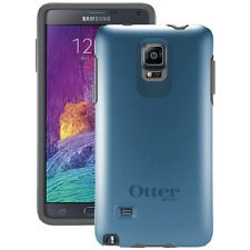 Otterbox Samsung Galaxy Note 4 Symmetry Series Case - Retail Packaging - Blue Pr