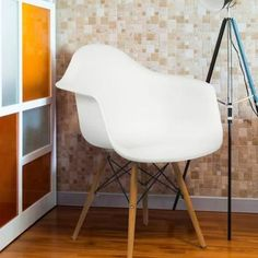 2019 Eames Style Armchair Mid Century Modern Molded Plastic Shell Arm Chair From 50 26 Inspiration Of Modern Style Chairs. Mid Century Modern Armchair, Mid Century Modern Furniture, Modern Dining Chairs, Living Room Chairs, Dining Room, Chair Pictures, Stylish Chairs, Eames Chairs, Arm Chairs