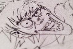 Murdoc Sketch by Jamie Hewlett Gorillaz Art Style, Tank Girl Comic, Murdoc Gorillaz, Jamie Hewlett Art, Deathly Hallows Tattoo, Cool Bands, Art Sketches, The Creator, Drawings