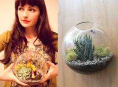 CAKE. | events + design: All in the Details | Terrariums Get plastic animals and paint gold