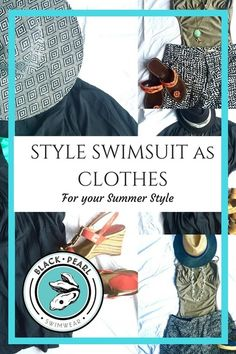 How to style Swimwear as Clothes Swimwear Fashion, Real Life, How To Look Better, Swimsuits, Pearl, Summer, Blog, How To Wear, Clothes