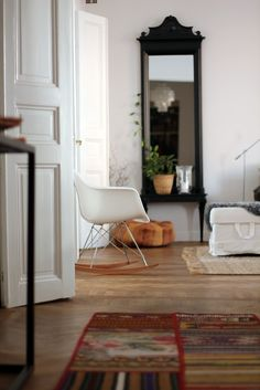 Eames, 'Rocker Chair'.
