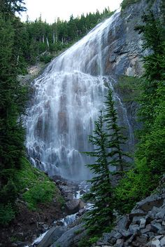 Spray Falls by christfollower7777, via Flickr