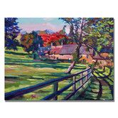 Found it at Wayfair - 'Country House' by David Lloyd Glover Painting Print on Canvas