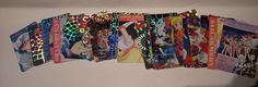 Sailor Moon Pretty Soldier Sailor Stars Cards & Holograms, 1996 Japan 8th annive