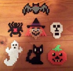 Halloween hama perler beads by Sylvana