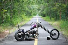 A blog about choppers without harley engines