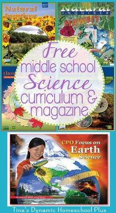 Free Middle School Science Curriculum and Magazine. I have rounded up a few free middle school science curriculum and magazine resources to share with you.
