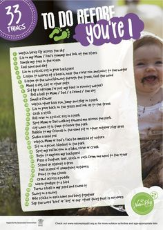 33 things to do before you're Infants & Toddlers - Nature Play QLD So many amazing developmental benefits outdoor play has for babies! Lots more outdoor play and nature play ideas on our site Language Development, Baby Development, Big Kids, Cool Kids, Childcare Environments, Cold Treatment, Outdoor Play, Outdoor Stuff, Look At The Stars