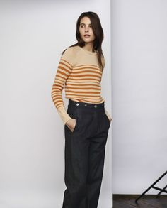 Edo stripe sweater http://www.toa.st/content/lookbook/women/ss15/precollection-browse.htm#2