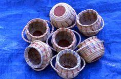 Sweetgrass baskets, Miccosukee.