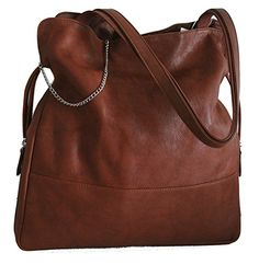 Soft Genuine Leather Classic HOBO BAG, SHOULDER Bag, TOTE - Medium Size, with Two Zip Side pockets Unknown http://www.amazon.com/dp/B00A53GKWE/ref=cm_sw_r_pi_dp_5C7Eub1EJCFQG