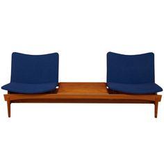1stdibs | Danish Teak Modular Sofa by Hans Olsen