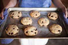 Vegan Salted Chocolate Chip Cookies