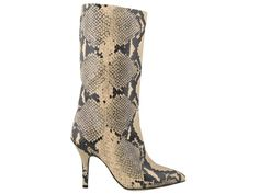 Shop Paris Texas Snake Print Boots and save up to EXPRESS international shipping! Heeled Boots, Shoe Boots, Shoes, Texas Snakes, Snake Print Boots, Paris Texas, Python Print, Stiletto Heels, Leather
