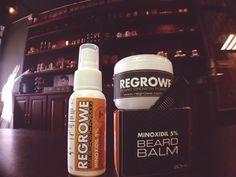 Somos distribuidores oficiales en León y Aguascalientes de una marca Mexicana para el cuidado y crecimiento de barba y cabello: Regrowe  Productos en base 5% Minoxidil a la venta en nuestra barbería.  Si tienes alguna duda del producto mándanos un inbox o visítanos en la barbería.