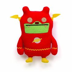 Uglydoll Jeero plush dressed in accurate Flash costume Soft, huggable material built to famous GUND quality standards Surface-washable